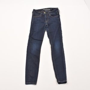 AMERICAN EAGLE SUPER SUPER STRETCH JEANS - SIZE 2